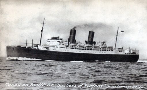 Martin on the Duchess of Bedford